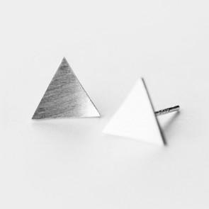 Alicia Silverörhängen Triangel
