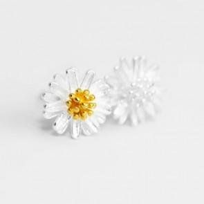 Daisy Silverörhängen - Silver