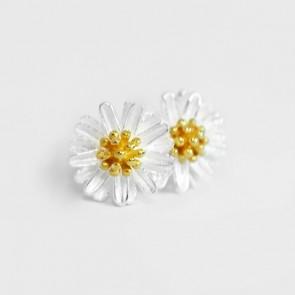 Daisy Silverörhängen - Guld
